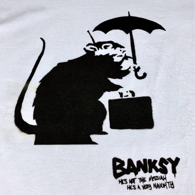 ネズミ バンクシー