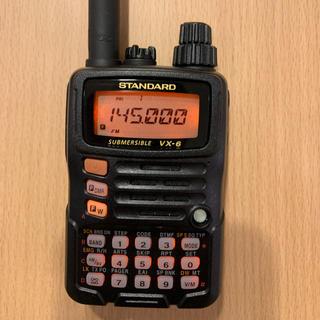 ヤエス YAESU STANDARD VX-6 オプション多数!(アマチュア無線)