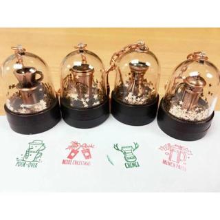 スターバックスコーヒー(Starbucks Coffee)の4個セット!クリスマス 台湾スターバックス キーホルダー スタンプ スノードーム(キーホルダー)