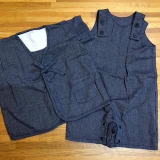 ムジルシリョウヒン(MUJI (無印良品))の無印 キッズ甚平 90(甚平/浴衣)