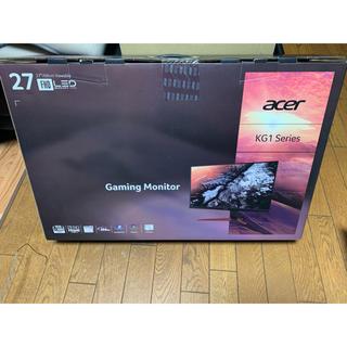 エイサー(Acer)のkg271 144hz ゲーミングモニタAcer(ディスプレイ)