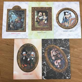 ディズニー(Disney)のディズニーシー ポストカードセット ディズニーアート(使用済み切手/官製はがき)