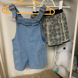 ジーユー(GU)のジャンスカ、スカート2枚(スカート)