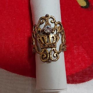 ジェーンマープル(JaneMarple)のシルバー925  クラウンリング(リング(指輪))
