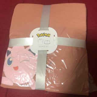 ジーユー(GU)のポケモンコラボ GU ラウンジセット ショートパンツ ピンク プリン XLサイズ(ルームウェア)