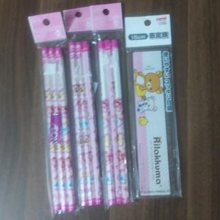 ディズニー(Disney)のプリンセス 2B 鉛筆9本 と定規(鉛筆)