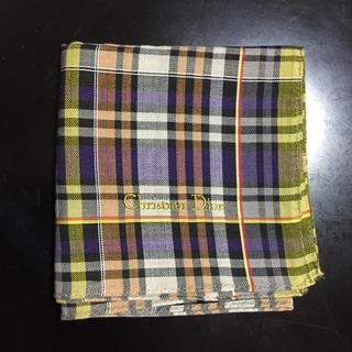 クリスチャンディオール(Christian Dior)のクリスチャンディオール ハンカチ(ハンカチ/ポケットチーフ)