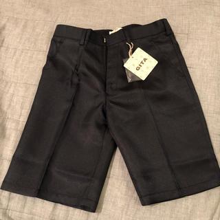 ベルメゾン(ベルメゾン)の新品 半ズボン フォーマル黒130(ドレス/フォーマル)