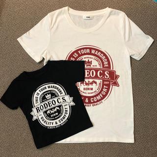 ロデオクラウンズ(RODEO CROWNS)のRODEO CROWNS  親子ペア Tシャツ(Tシャツ/カットソー(半袖/袖なし))
