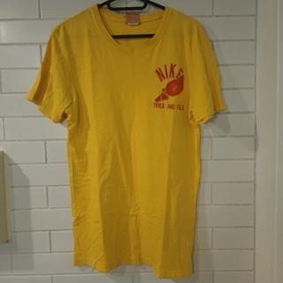 ナイキ(NIKE)のNIKE Tシャツ イエロー 古着(Tシャツ/カットソー(半袖/袖なし))