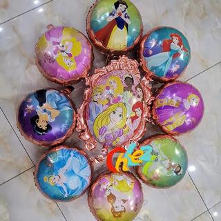ディズニー(Disney)の9ピースセット☆プリンセスバルーン☆風船☆ホームパーティー☆誕生日☆お祝い☆装飾(その他)