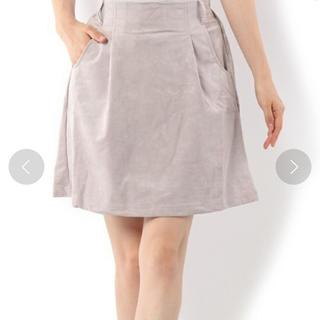ミスティウーマン(mysty woman)のmysty woman スウェードスカート(ミニスカート)