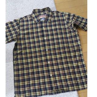 カムコ(camco)のMサイズ カムコ camco 半袖 チェックシャツ ブラウン(シャツ)