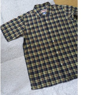 カムコ(camco)のXL カムコ camco チェックシャツ ブラウン 新品 半袖シャツ(シャツ)