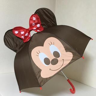 ディズニー(Disney)の即購入OK!新品未使用★キッズ ディズニー ミニー 耳付 傘(傘)
