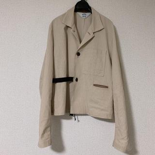 サンシー(SUNSEA)のSUNSEA BUENA VISTA Stripe Jacket 19ss(シャツ)