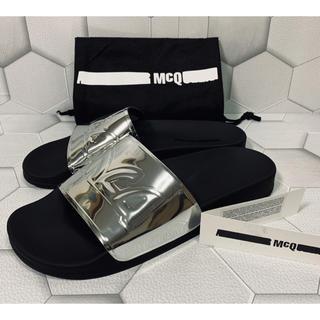 アレキサンダーマックイーン(Alexander McQueen)のMCQ ALEXANDER MCQUEEN  men's  ロゴサンダル 27(サンダル)