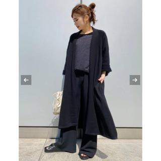 DEUXIEME CLASSE -  【新品】人気 AP STUDIO ショールカラーニットガウン