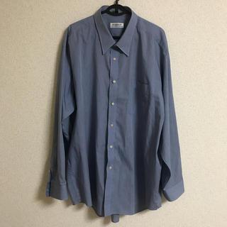 アオヤマ(青山)の【美品】KINGWIN 形状記憶 シャツ ブルー(シャツ)