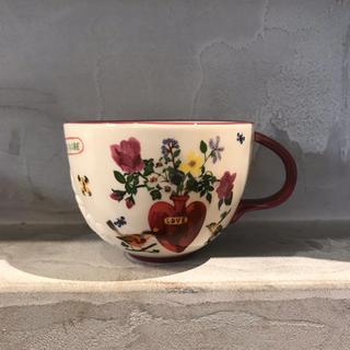アンソロポロジー(Anthropologie)のアンソロポロジー ナタリーレテ  love マグカップ 1点 新品(グラス/カップ)