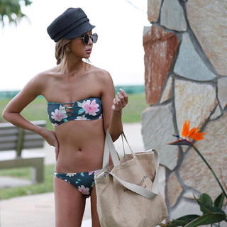 room306 CONTEMPORARY - room306👙水着 Floral Bikini