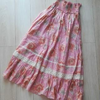 リズリサ(LIZ LISA)のリズリサ 定価1万円 ロングスカート ひまわり (ロングスカート)