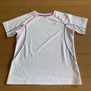 アシックス(asics)のアシックス Tシャツ 白(Tシャツ(半袖/袖なし))