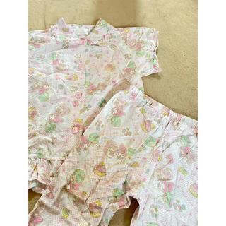 シマムラ(しまむら)のキキララ&マイメロディ♡パジャマ 120cm(パジャマ)