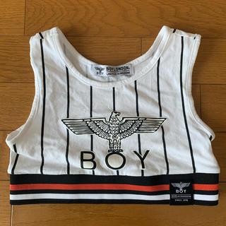 ボーイロンドン(Boy London)のBOY LONDON ボーイロンドン へそ出し タンクトップ ブラトップ(タンクトップ)