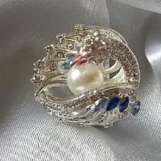 指輪 リング    天然真珠ヴィエンテージクラシックスワン(リング(指輪))