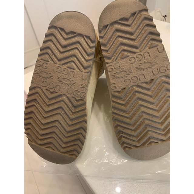 Chrome Hearts(クロムハーツ)のUGG✖️クロムハーツ コラボムートンブーツ キッズ/ベビー/マタニティのキッズ靴/シューズ(15cm~)(ブーツ)の商品写真