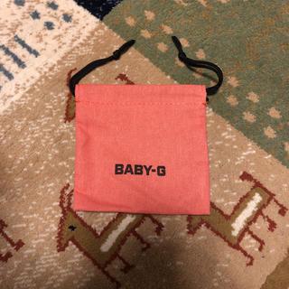 ベビージー(Baby-G)の【CASIO】BABY-Gの袋(ショップ袋)