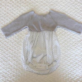 ザラホーム(ZARA HOME)のzara home baby ロンパース 1-3m(ロンパース)