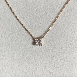 ヴァンドームアオヤマ(Vendome Aoyama)の専用 ヴァンドーム青山 ダイヤモンド カローラ ネックレス K18 保証書付(ネックレス)