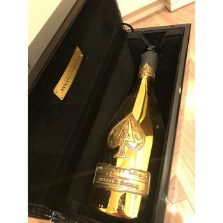 アルマンドバジ(Armand Basi)のアルマンドゴールド空瓶ケースセット(シャンパン/スパークリングワイン)