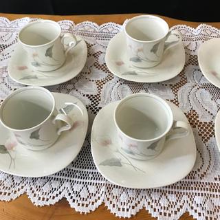 ミカサ(MIKASA)のコーヒーカップセット6客(グラス/カップ)
