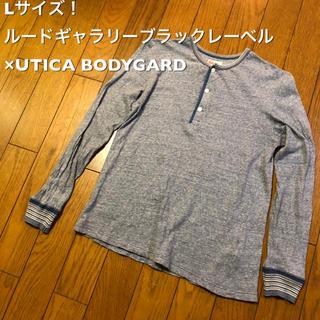 ルードギャラリー(RUDE GALLERY)のLサイズ!ルードギャラリーブラックレーベル×UTICA BODYGARD(ボディ(Tシャツ/カットソー(七分/長袖))