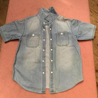 ジーユー(GU)のボーイズデニムシャツ  130(ジャケット/上着)