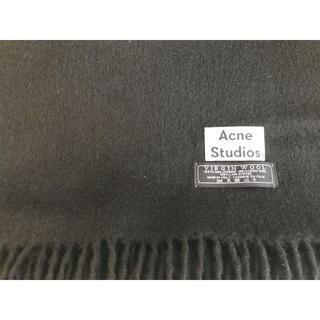 ACNE - acne studios マフラー 黒 旧タグ