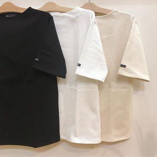 セントジェームス(SAINT JAMES)のセントジェームス ウェッソン 半袖 白 新品(Tシャツ(半袖/袖なし))