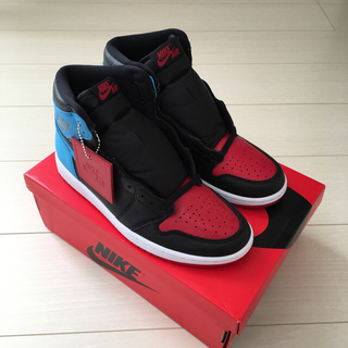 ナイキ(NIKE)のNIKE WMNS AIR JORDAN 1 HIGH UNC CHICAGO(スニーカー)