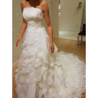 エメ(AIMER)のウェディングドレス Aimer 【お値下げ相談可能】(ウェディングドレス)