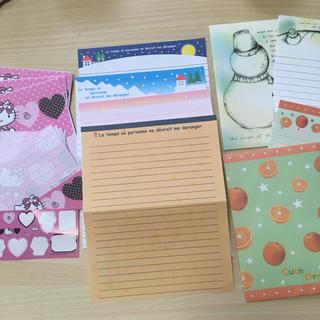 封筒 便箋 各種余り物(カード/レター/ラッピング)