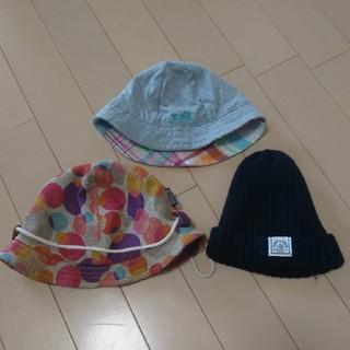 エックスガールステージス(X-girl Stages)のベビー 帽子 3点セット(帽子)