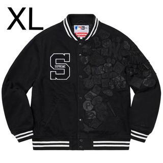 シュプリーム(Supreme)のSupreme/New Era/MLB Varsity Jacket  XL(スタジャン)