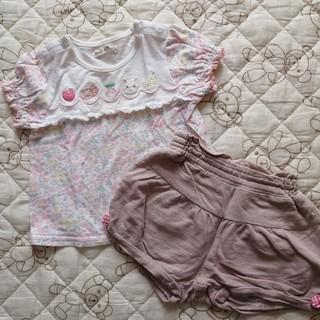 クーラクール(coeur a coeur)のクーラクール 夏物 半袖 半ズボン 70 80(Tシャツ)