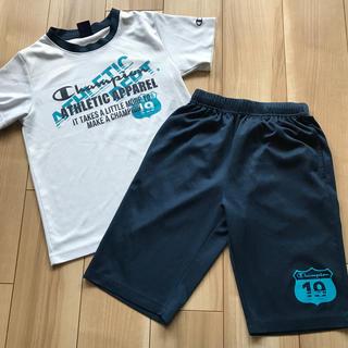 チャンピオン(Champion)の☆美品☆ チャンピオン150センチTシャツ&ハーフパンツ上下 送料無料 匿名配送(ウェア)