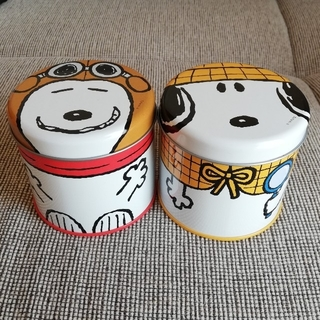 スヌーピー(SNOOPY)のUSJ スヌーピー缶(キャラクターグッズ)