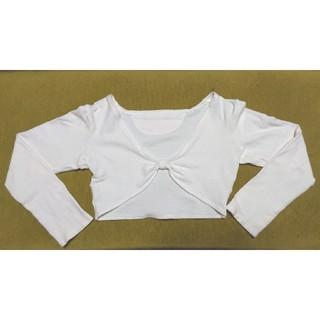 チャコット(CHACOTT)のChacott カシュクールボレロ キッズ130cm(Tシャツ/カットソー)