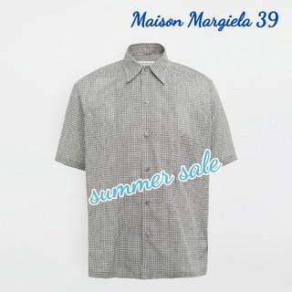 マルタンマルジェラ(Maison Martin Margiela)の【新品】Maison Margiela モノクロシャツ 39(シャツ)